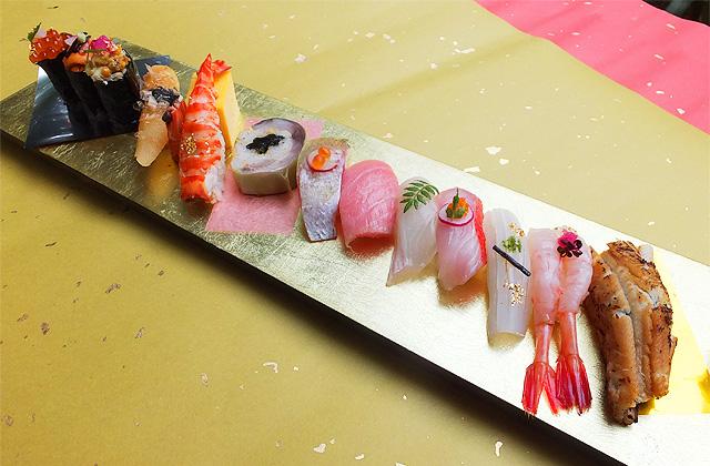 お寿司『ニューヨークスタイル』